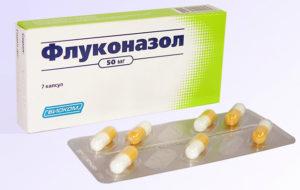 Флуконазол при месячных