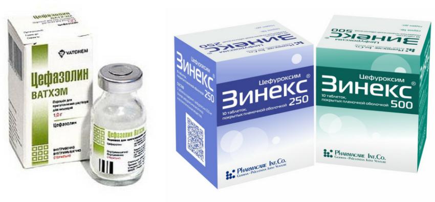 антибиотики при цервиците
