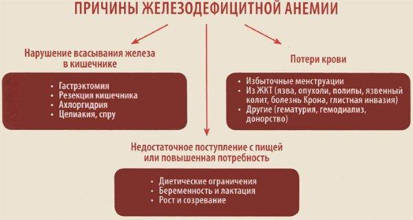 анемия при менструации