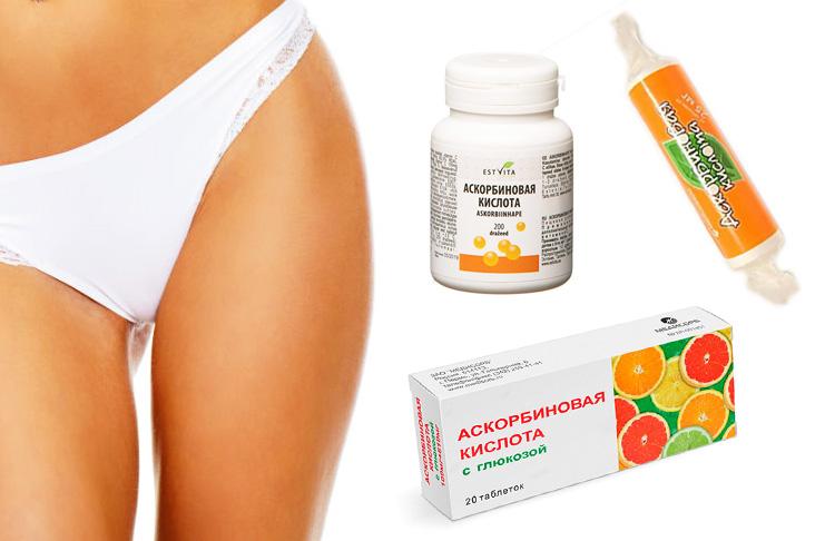 Влияние витамина с на месячные