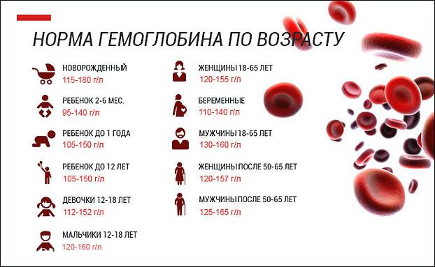 Гемоглобин при менструации
