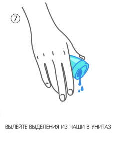 инструкция по применению менструальной чаши