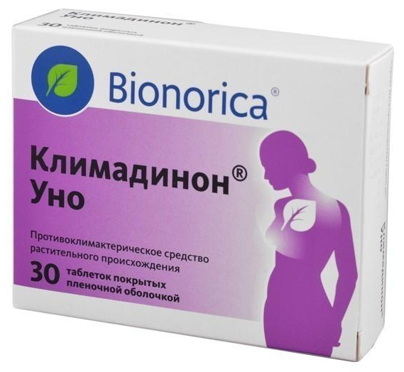 Климадинон Уно польза для женщин во время климакса