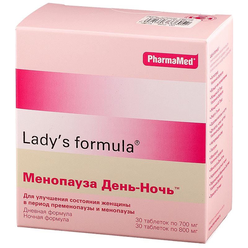 Витамины Менопауза Ледис формула при климаксе