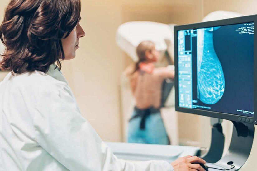 диагностика молочной жеелзы